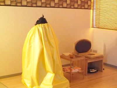 京都・舞鶴のよもぎ蒸しはクベーラ